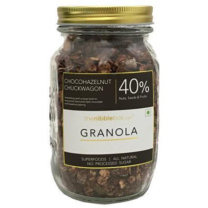 Chocohazelnut Chuckwagon Breakfast Granola - Thenibblebox