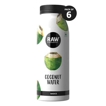 RAW PRESSERY COCONUT WATER 200ML SIX PACK