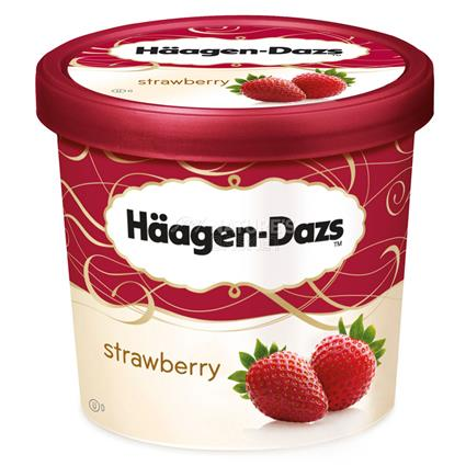 Strawberry Flavoured - Haagendazs