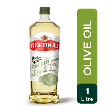 BERTOLLI EXTRA LIGHT OLIVE OIL JAR 1Ltr