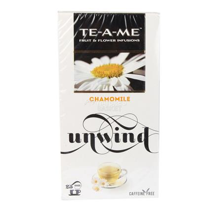 TE A ME CHAMOMILE 25S TEA BAG BOX