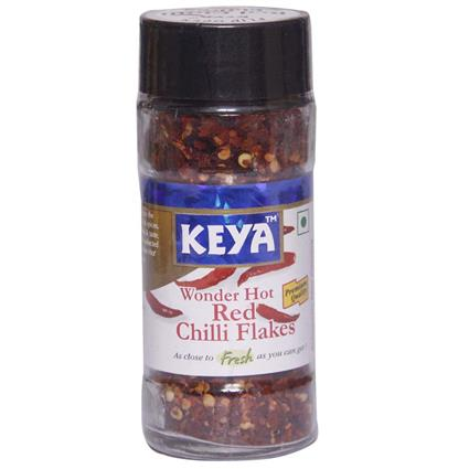 KEYA CHILLI FLAKES - WONDERHOT 40G