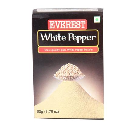 EVEREST WHITE PEPPER POWDER 50G