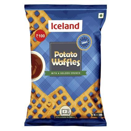 ICELAND POTATO WAFFLES 220G