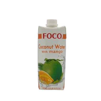 FOCO COCONUT WTR WITH MANGO 500Ml