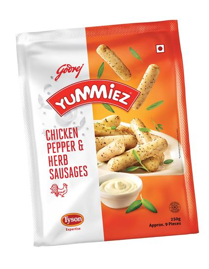 Chicken Pepper & Herb Sausages - Yummiez