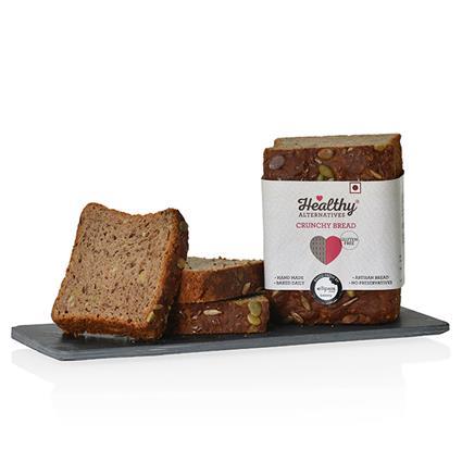Glutenfree Crunchy Bread Half Loaf - Healthy Alternatives