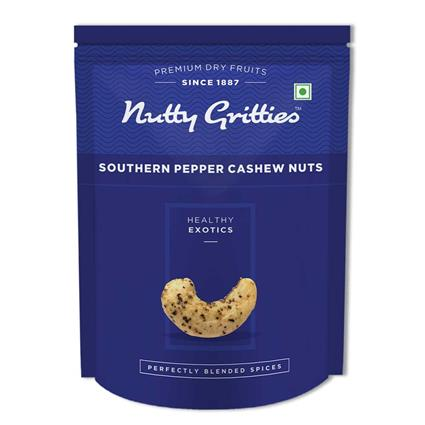 Pepper Cashewnuts - Nutty Gritties