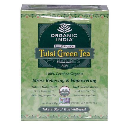 Tulsi Green Tea - Organic India