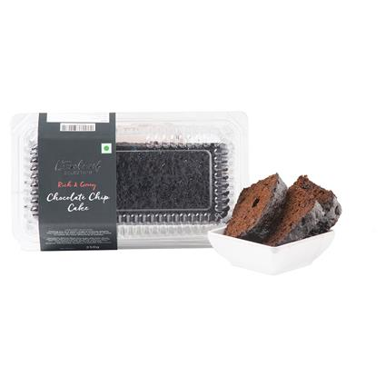 Choco Chip Eggless Bar Cake - L'exclusif