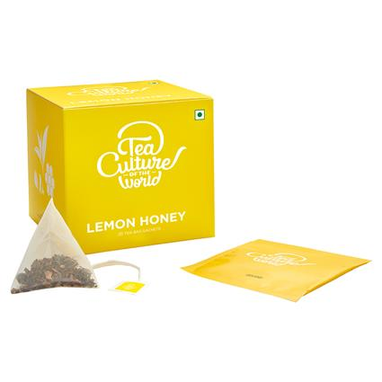 Lemon Honey Green Tea - Tea Culture