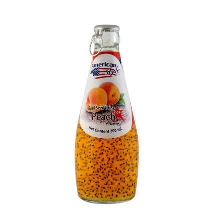 Basil Seed In Peach Juice - American Style