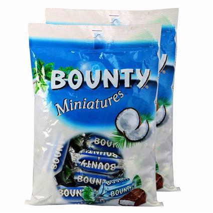 BOUNTY MINIATUES 150G