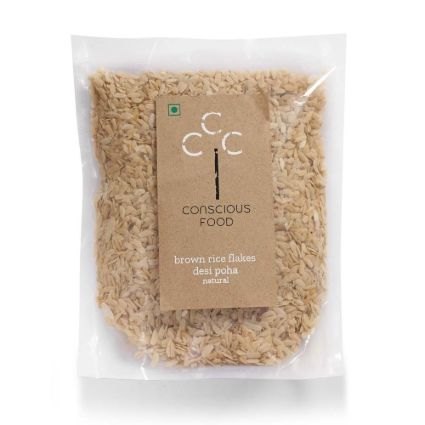 CONSCIOUS FOOD BROWN RICE FLAKES 500G