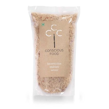 CONSCIOUS FOOD BR  INDRANI 500G