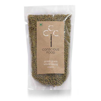 CONSCIOUS FOOD GREEN GRAM 500G