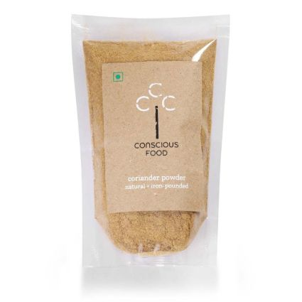 CONSCIOUS FOOD CORIANDER POWDER 100G