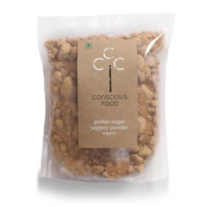 CONCISOUS FOOD GOLDEN SUGAR 500G