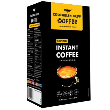 COLOMBAIN BREW INSTANT COFFEE 50G