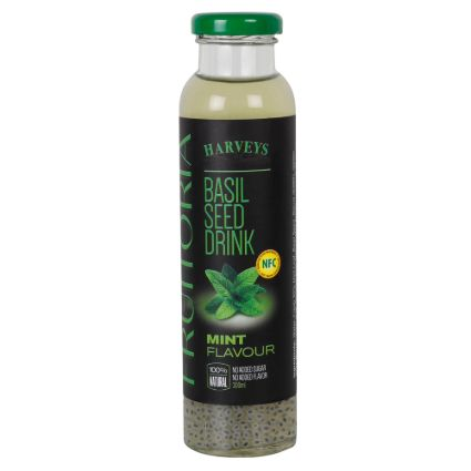FRUITORIA BASIL SEED DRINK MINT 300Ml