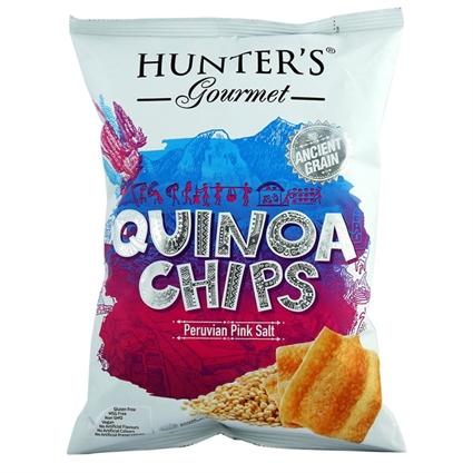 HUNTERS QUINOA CHPS PINK SALT 75G