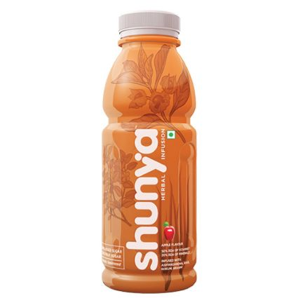 SHUNYA HERBAL INFUSION - APPLE400 ML