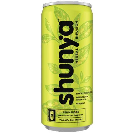 SHUNYA HERBAL INFUSION FIZZ -LIME 300 ML