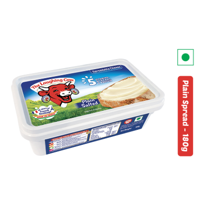 THE LAUGHING COW CHEESE SPREAD PLAIN180G