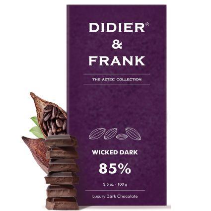 DIDIER N FRANK 85PER DARK CHOCOLATE 100G