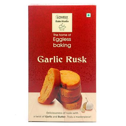 Garlic Rusk - Lovely Bake Studio