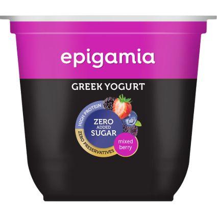 EPIGAMIA GREEK YOGURT NSA MXD BRRY 120GM