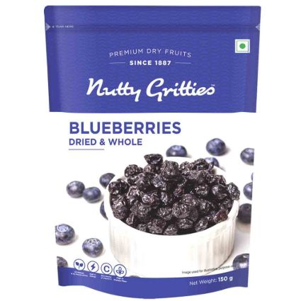 NUTTY GRITTIES BLUEBERRIES 150G