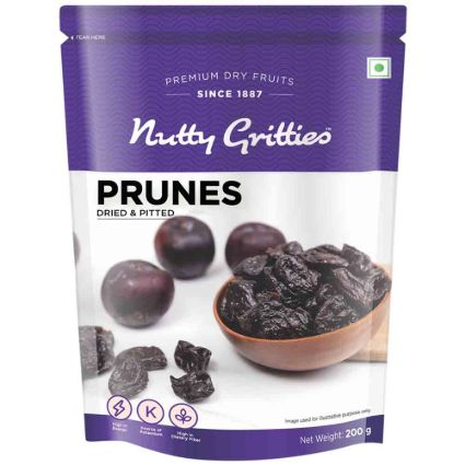 NUTTY GRITTIES PRUNES 200G