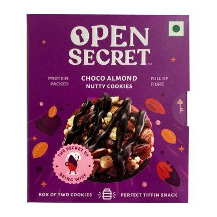 OPEN SECRET CHOCO ALMD NUTTY COOKIES 25G