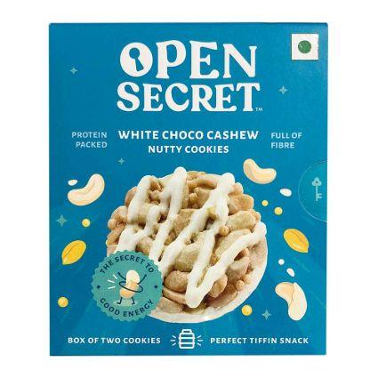 OPEN SECRET WHTE CHCO NUTY COOKIES 25G