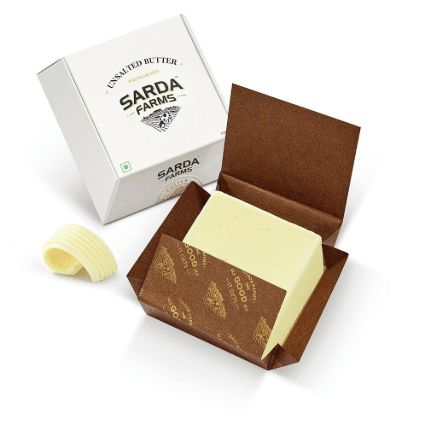 SARDA FARMS UNSALTED BUTTER 100GM