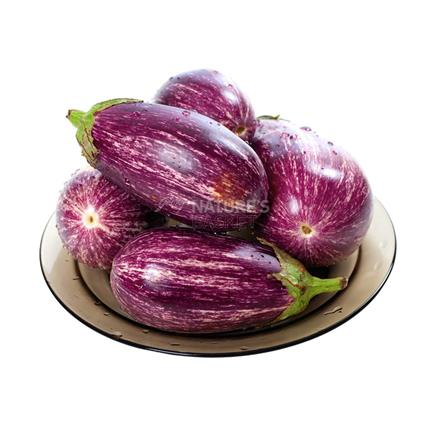 Organic Brinjal Purple Stripes - Natures Basket