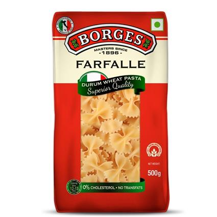 BORGES FARFALLE PASTA 500G