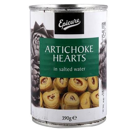 EPICURE ARTICHOKE HEARTS 390G