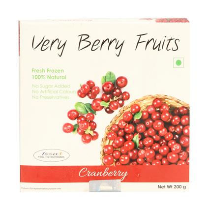 Berry Fruits Cranberries - Very