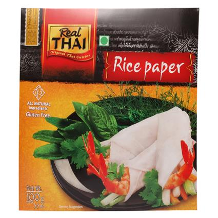 REAL THAI RICE PAPER ROUND 22CM 100g