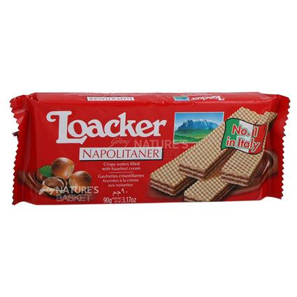 Napolitaner Wafers Biscuits - Loacker