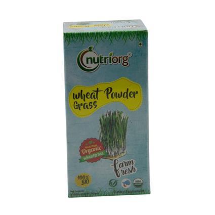 NUTRIORG WHEATGRASS POWDER 100G