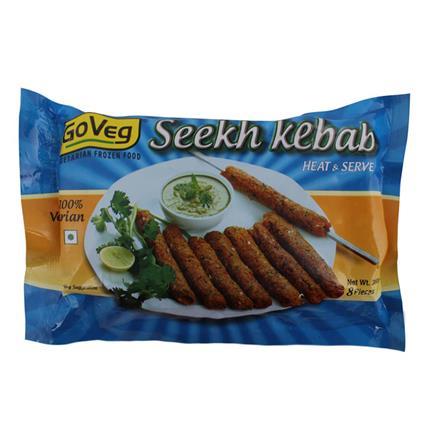 Seekh Kebab - Go Veg