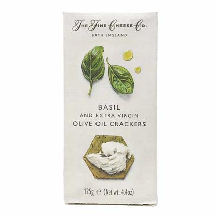 Basil Evoo Crackers - Fine Cheese