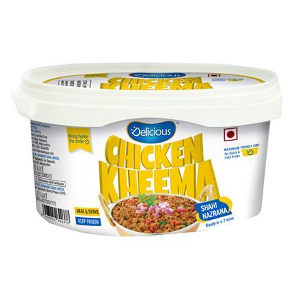 Chicken Kheema - Elicious