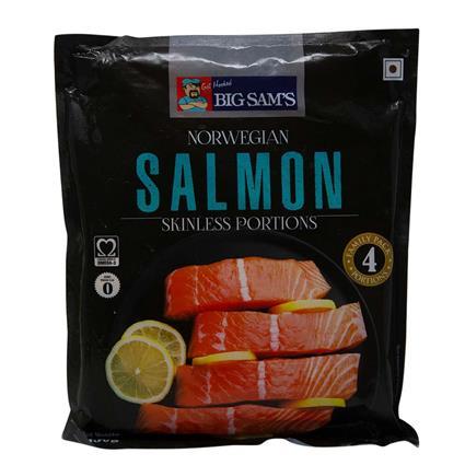BIG SAMS SALMON FILLET PORTIONS 450G