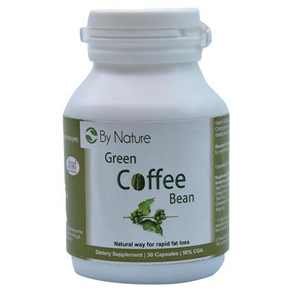 Green Coffee Bean 30 Caps - Bynature