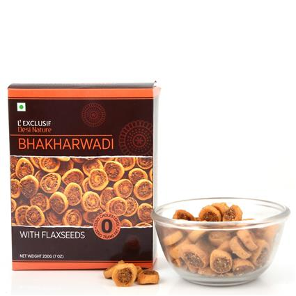 Bhakharwadi W/ Flax Seeds - L'exclusif