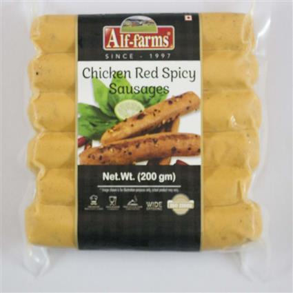 ALF FARMS CHICKEN RED SPICY SAUSAGE 200G